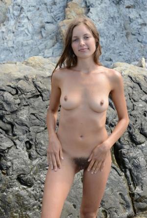 Nude Beach Hairy Porn
