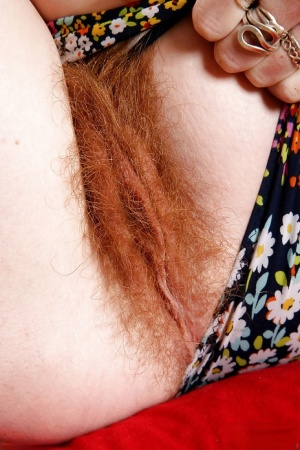 Hairy Redhead Porn